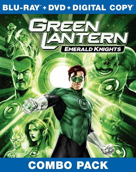 Зеленый Фонарь: Изумрудные рыцари (2011)